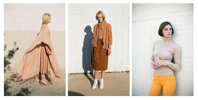 Базовая одежда коричневого цвета brown basics