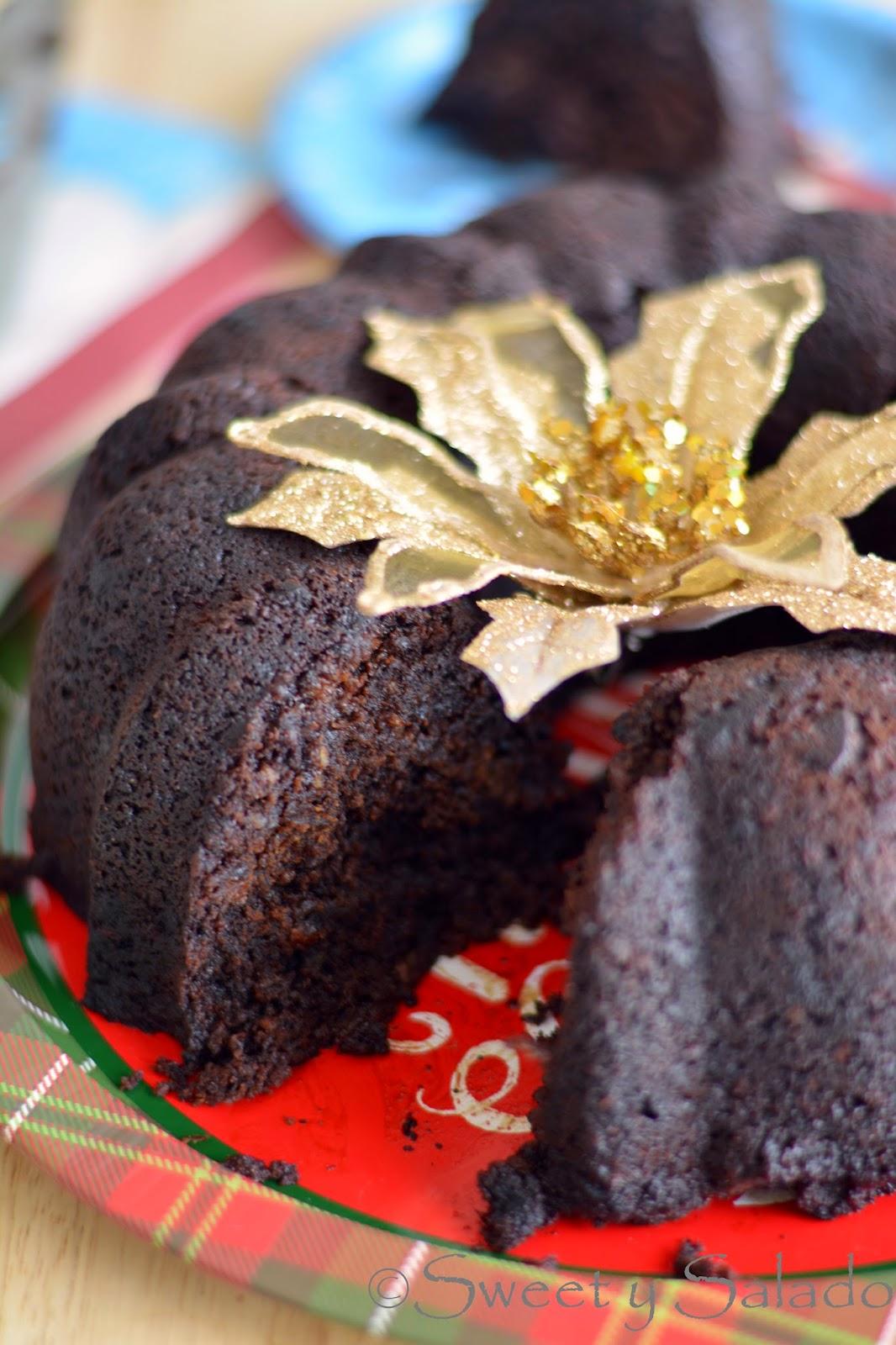 Torta Negra Colombiana Sweet Y Salado