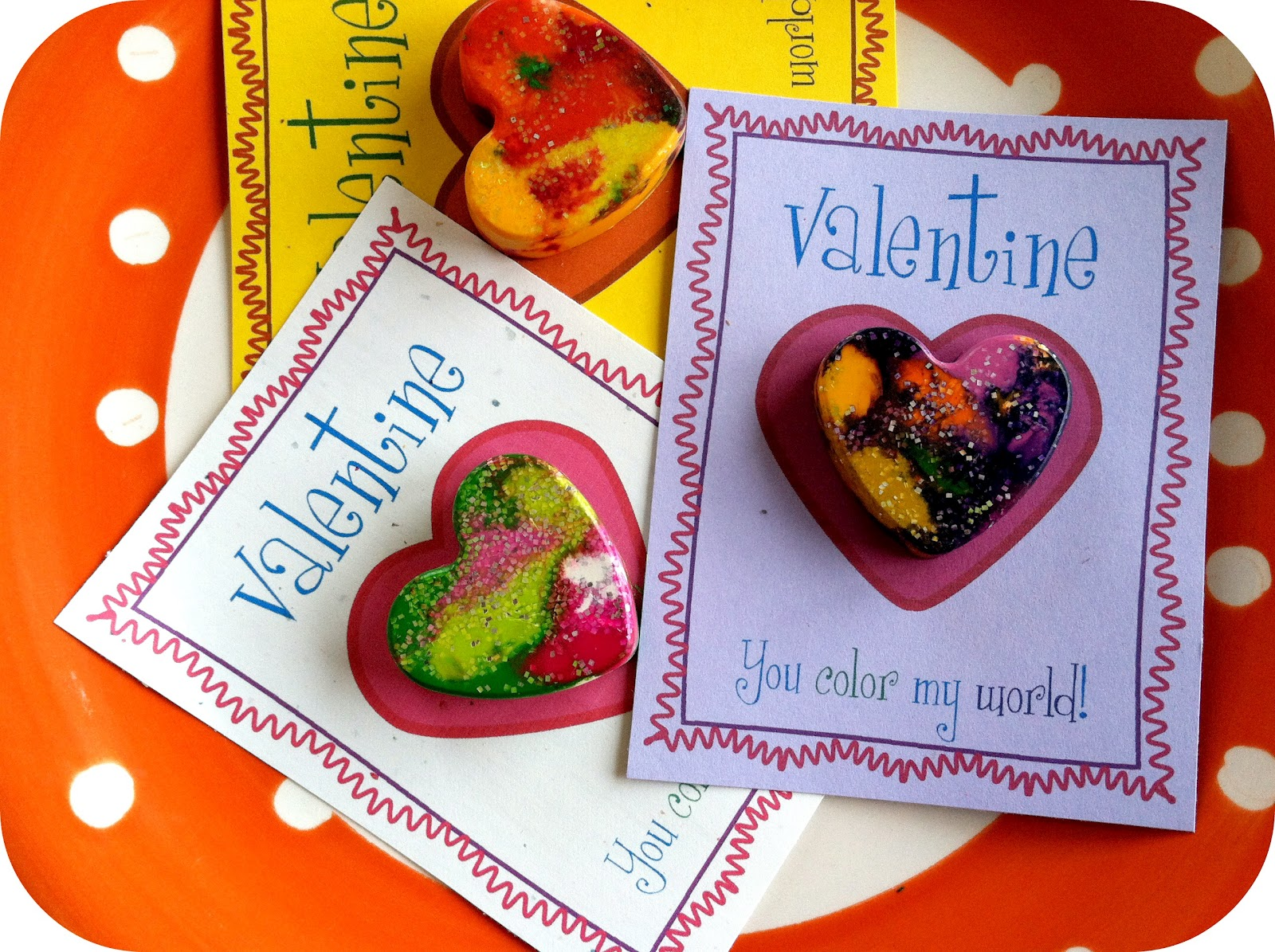 Coming Up Rosemary Heart Shaped Crayons With Free Valentine S Printable