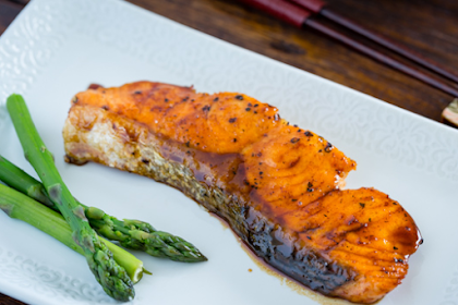 Delicious Recipes of Salmon Burn Black Pepper Sauce