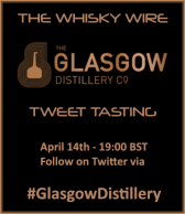 Glasgow Distillery Tweet Tasting