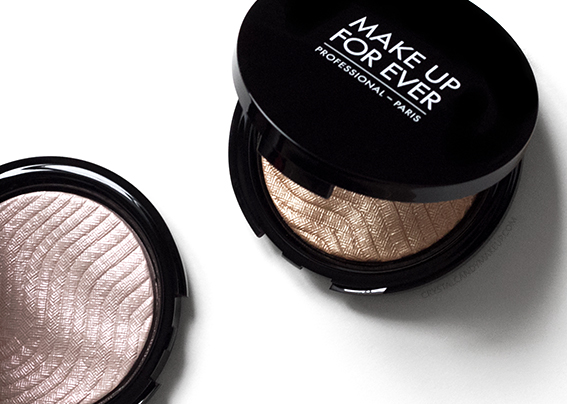 Make Up For Ever Pro Light Fusion Highlighter 01 02 Review