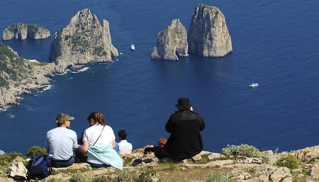 Segundo dia de viagem na Ilha de Capri