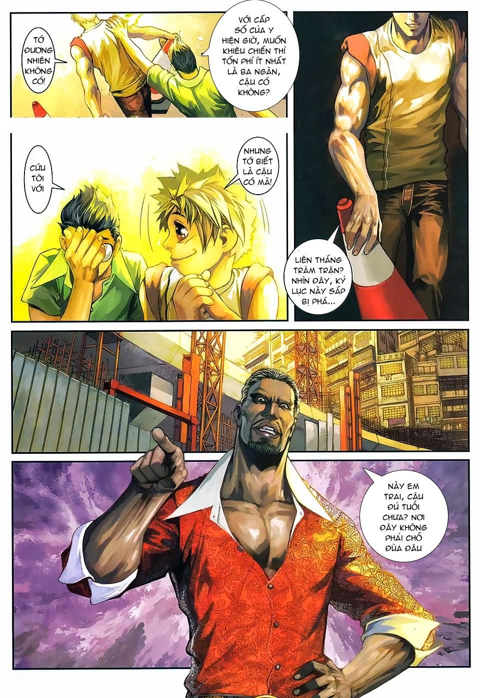 Quyền Đạo chapter 1 trang 18