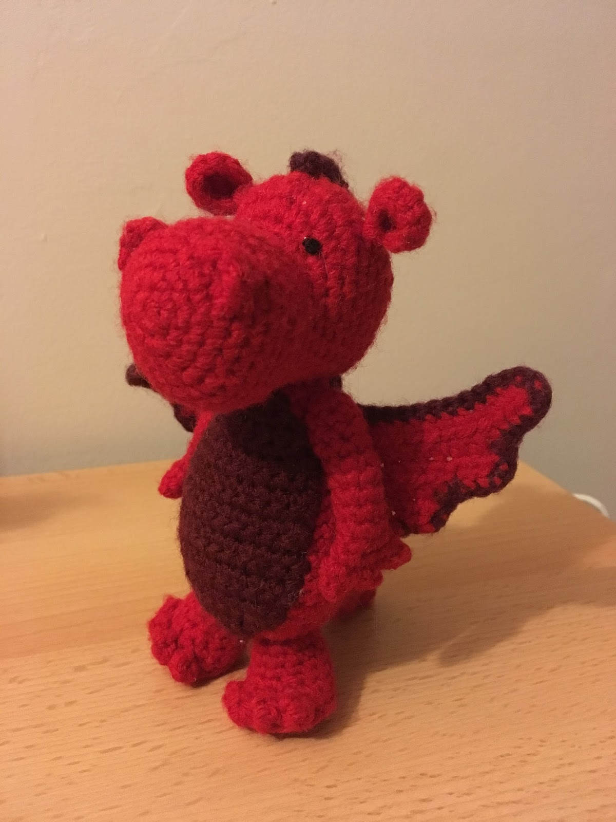 Drake the Dragon amigurumi pattern - Amigurumipatterns.net | 1600x1200
