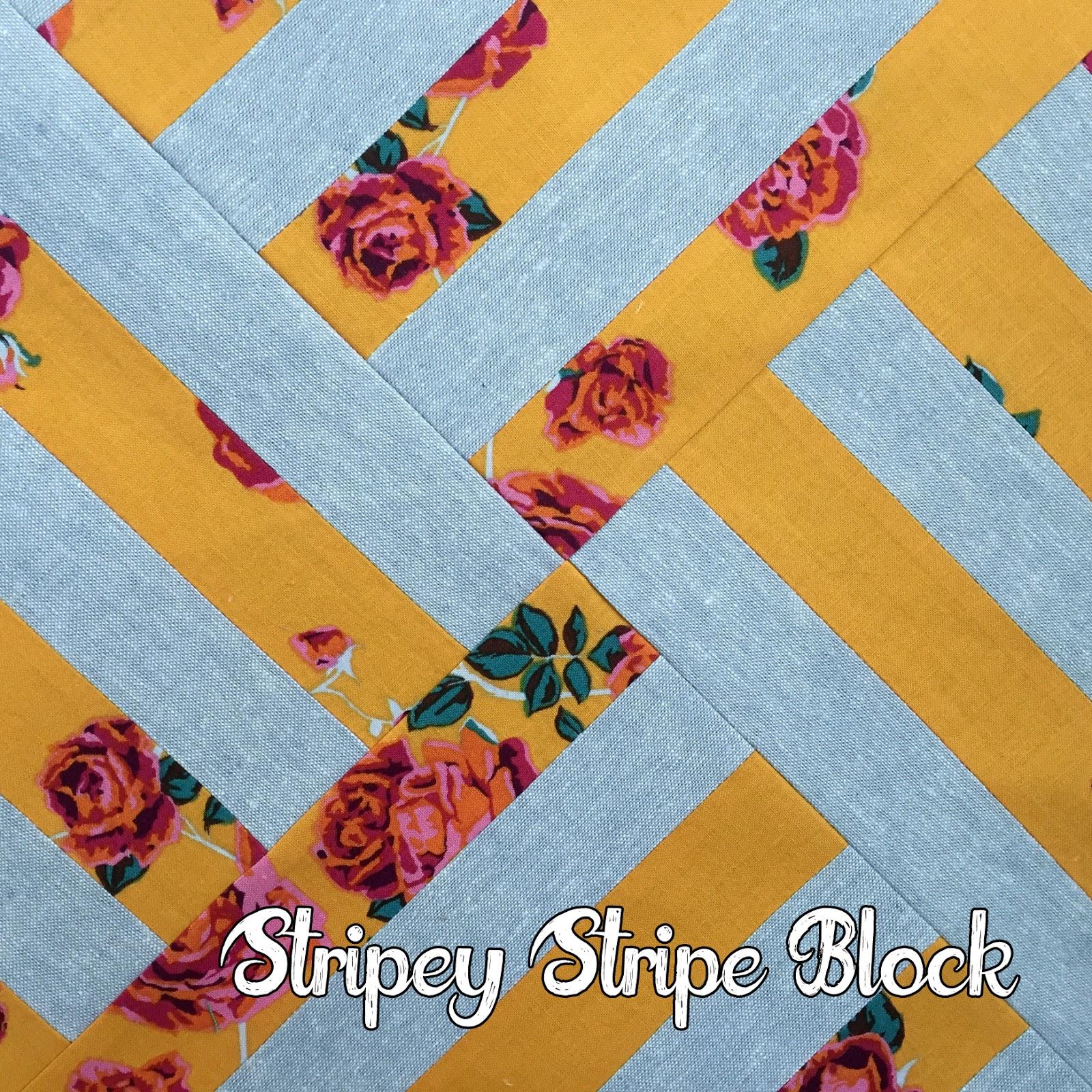 http://hotpinkquilts.blogspot.com/2017/04/stripey-stripe-block-tutorial.html