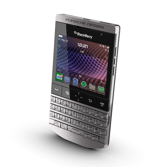 Porsche Design P'9981 smartphone by BlackBerry front