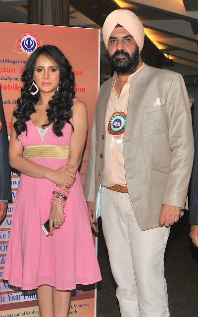 Shweta Khanduri with Gurdeep Singh Chandhok,