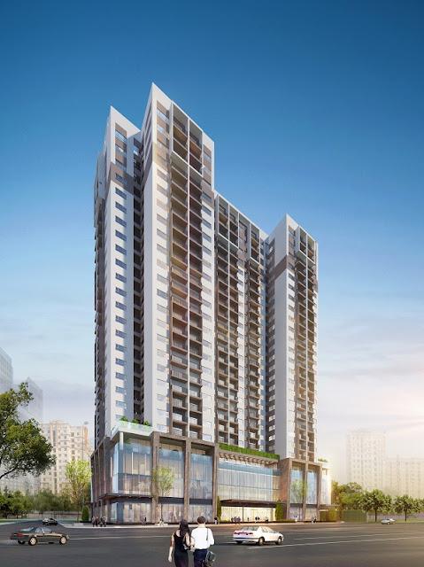 Phối cảnh dự án Eco Dream city của Việt Hưng