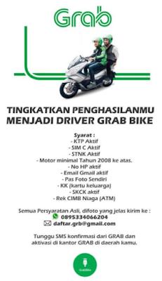Grab Motor Bandung Daftar