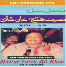 Nusrat Fateh Ali Khan in Concert Vol. 23