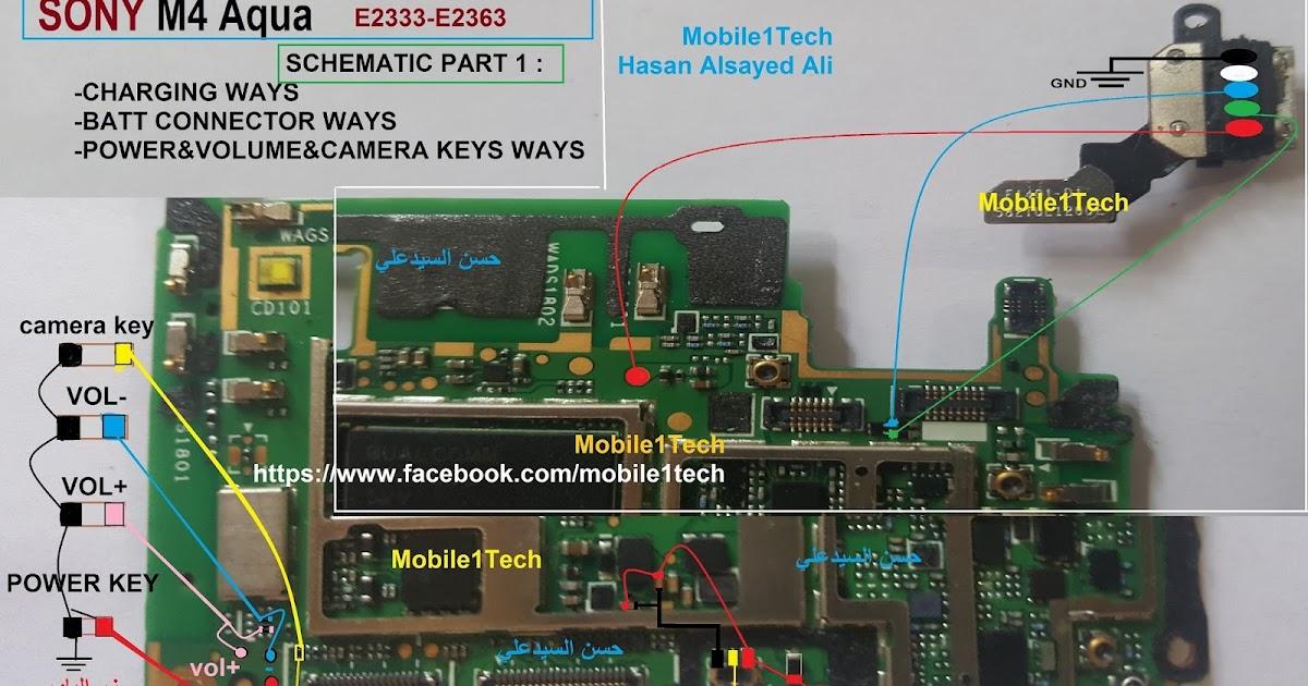 SONY M4 Aqua full schematic Mobile1Tech