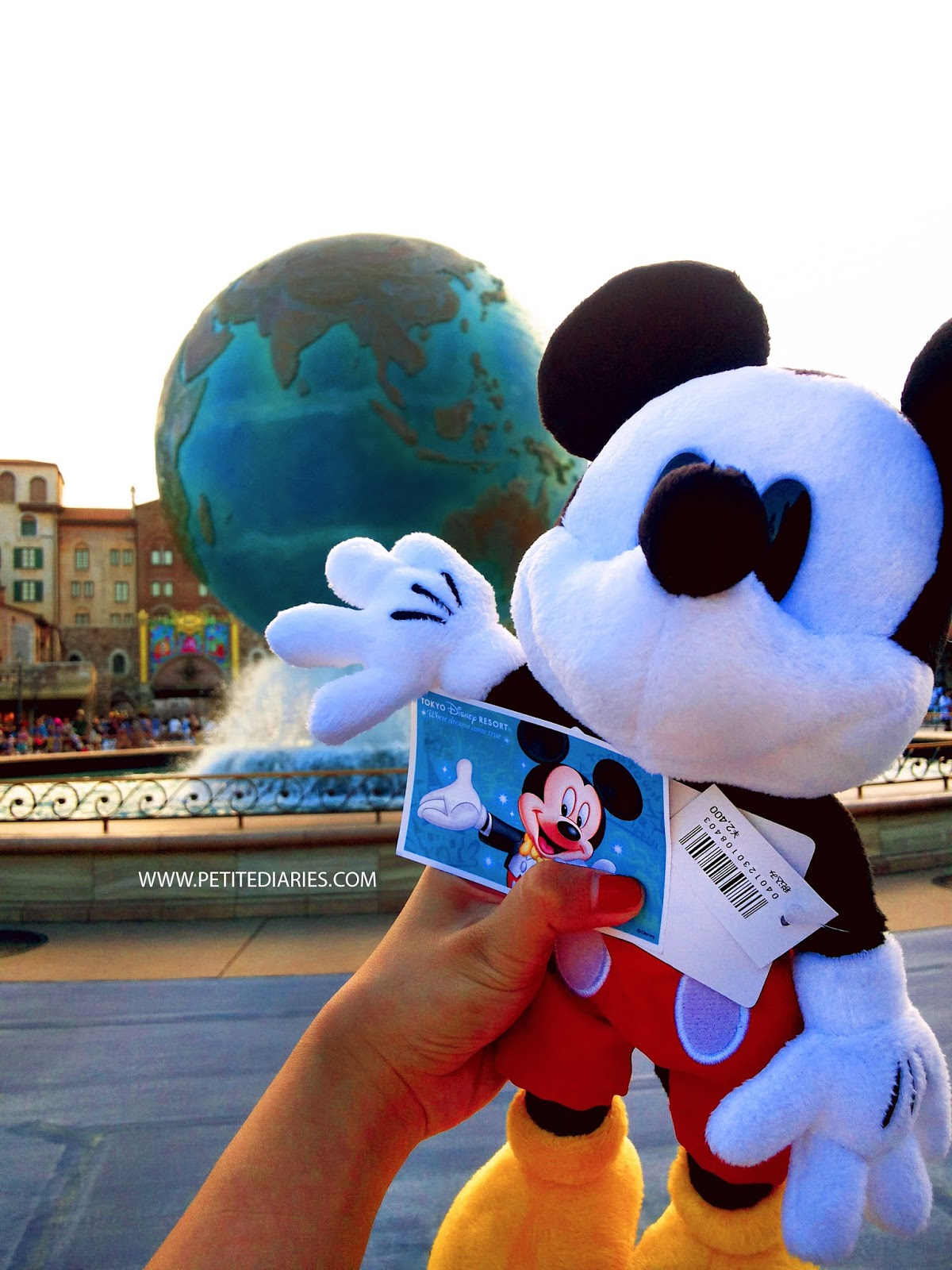 classic mickey plush disneysea