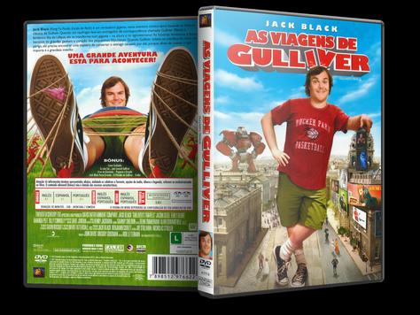 Capa DVD As Viagens de Gulliver