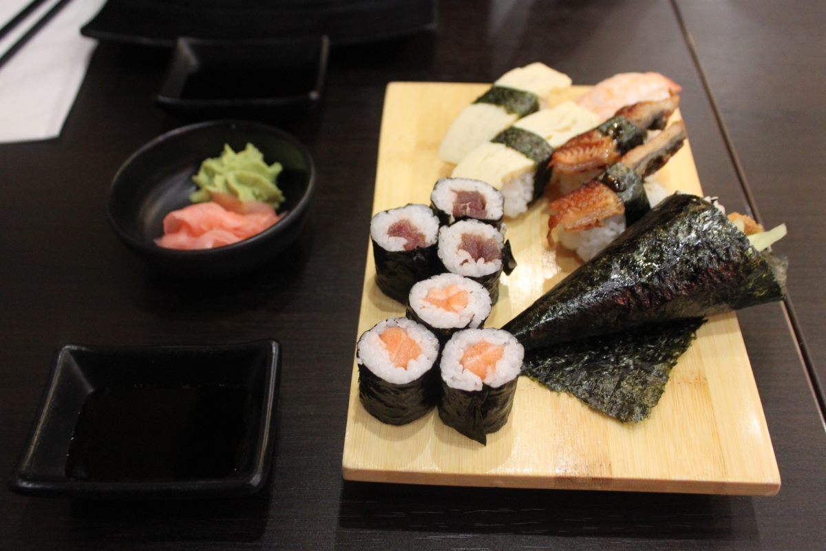 Kyoto Sushi and Grill Restaurant Birmingham Food Review