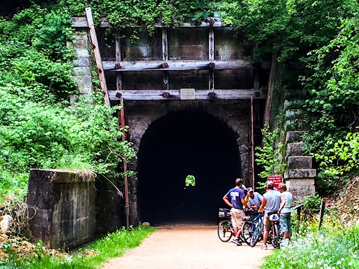 Tunnel 2 on the Elroy Sparta Bike Trail