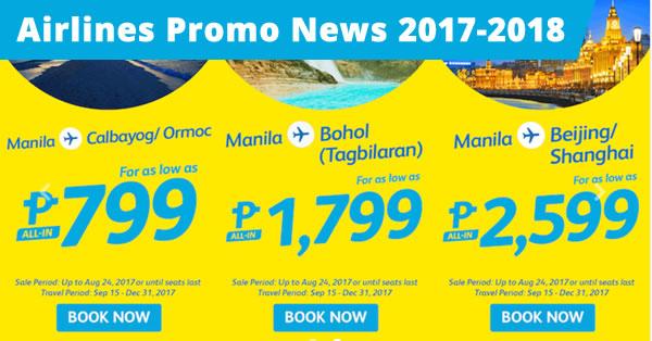 cebu pacific low fare promo 2018