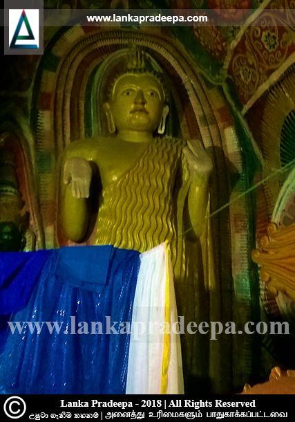 The standing Buddha, Vanamandawa