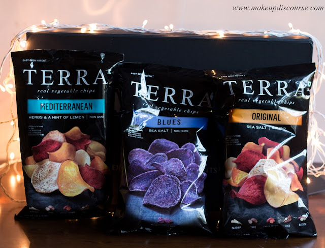 Terrachips Original, Mediterranean, Blues Root Vegetable chips