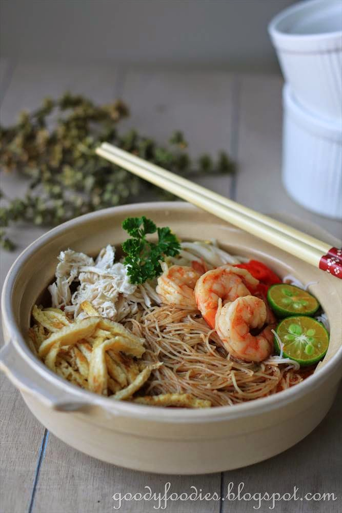 Sarawak Laksa Recipe By Baby Sumo Adapted From Here Preparation Time 10 Minutes Cooking 40 45 Serves 2