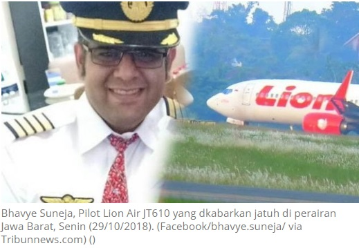 Gaji Pilot Pesawat Lion Air