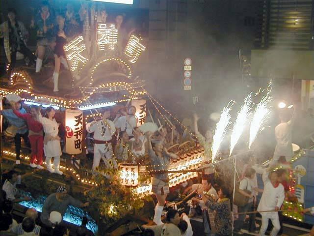 Kogashi Matsuri Float Parade, Atami City, Shizuoka