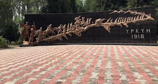В Кыргызстане воздвигли 16-метровый монумент жертвам геноцида 1916 года