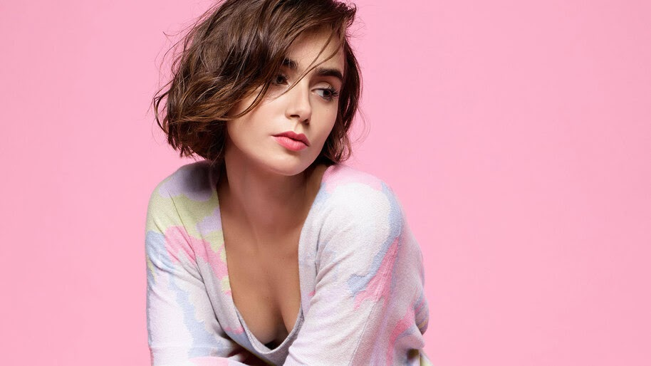 Lily Collins, Beautiful, 4K, #4.2651