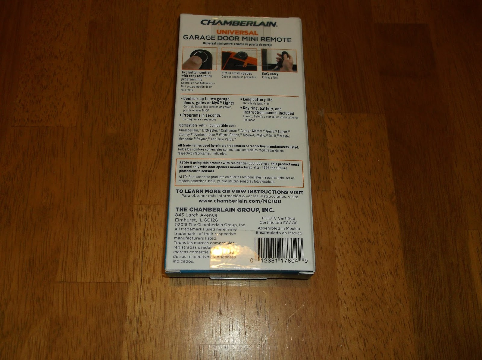 Missys Product Reviews Chamberlain Universal Mini Garage Door Disclaimer I  Received One Or More Of The