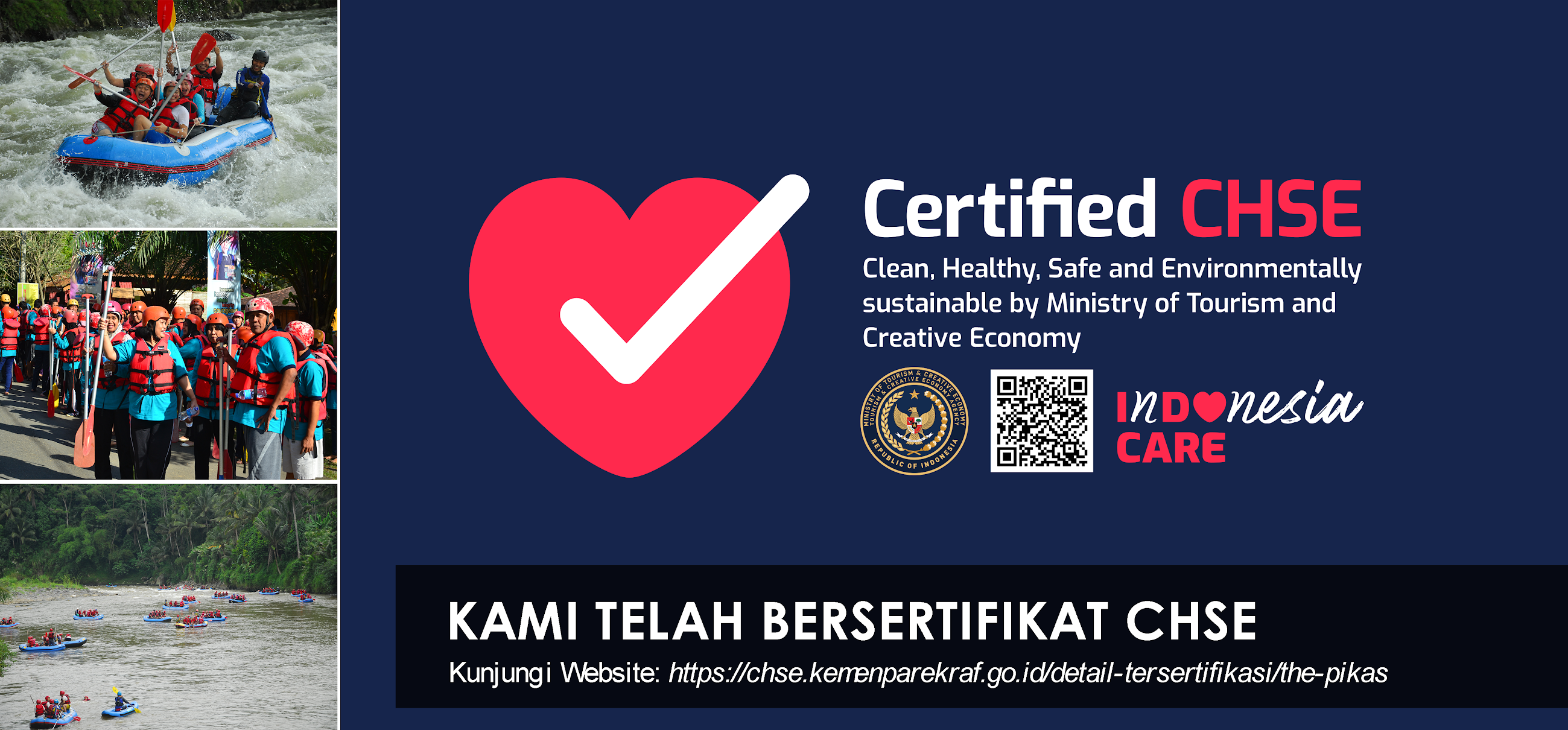 Bersertifikat CHSE