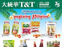 T&T Supermarket Flyer valid Flyer April 13 - 19, 2018  Weekly Specials