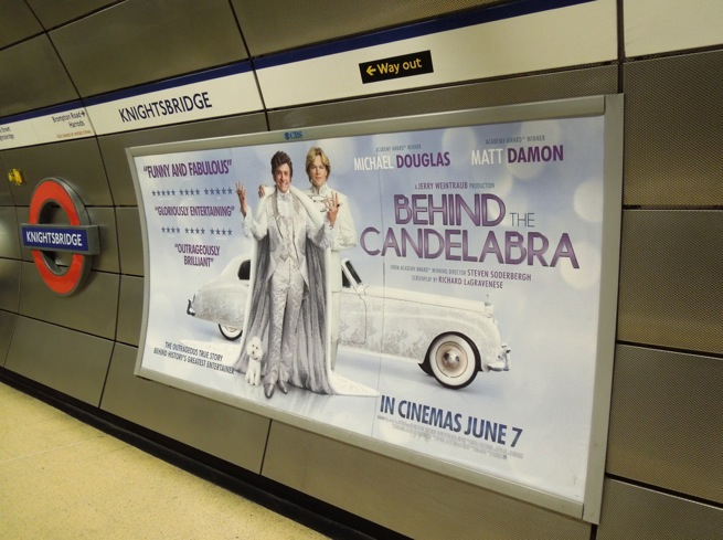 Behind the Candelabra London poster
