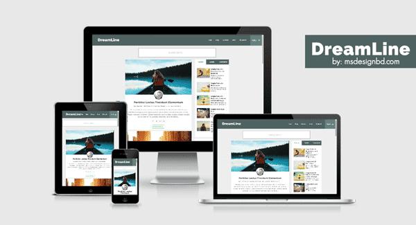 DreamLine adalah templat situs web pribadi untuk blogging pribadi. DreamLine adalah template blogger yang fleksibel dan cerdas.
