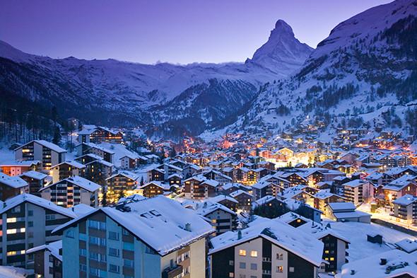 Aluguel de carro em Zermatt na Suíça