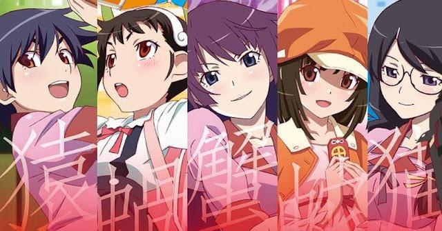 Bakemonogatari - Daftar Anime Mirip Hyouka