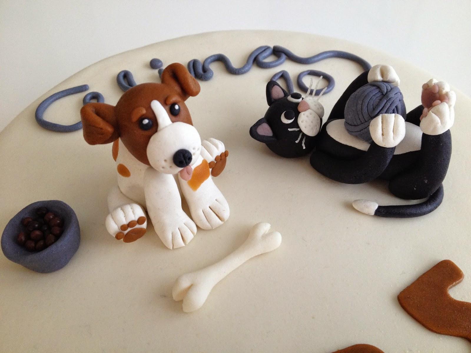 Petran kakkumuru: Kissa ja koira -kakku