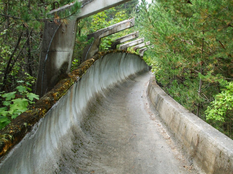 1984 Winter Olympics bobsleigh track in Sarajevo - 30 Abandoned Places that Look Truly Beautiful