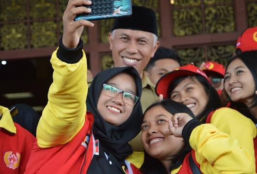 Walikota Padang Kunjungi Posko Atlet Porprov XV