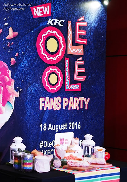 Fun, Food & Prizes At KFC Fans Party
