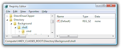 image of shell directory