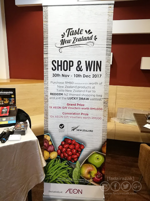 AEON Taste New Zealand Food Fair