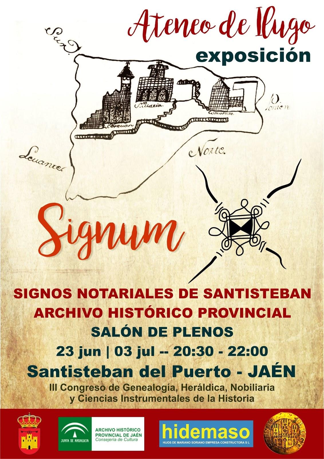 SIGNUM | Exposición | Santisteban del Puerto EU
