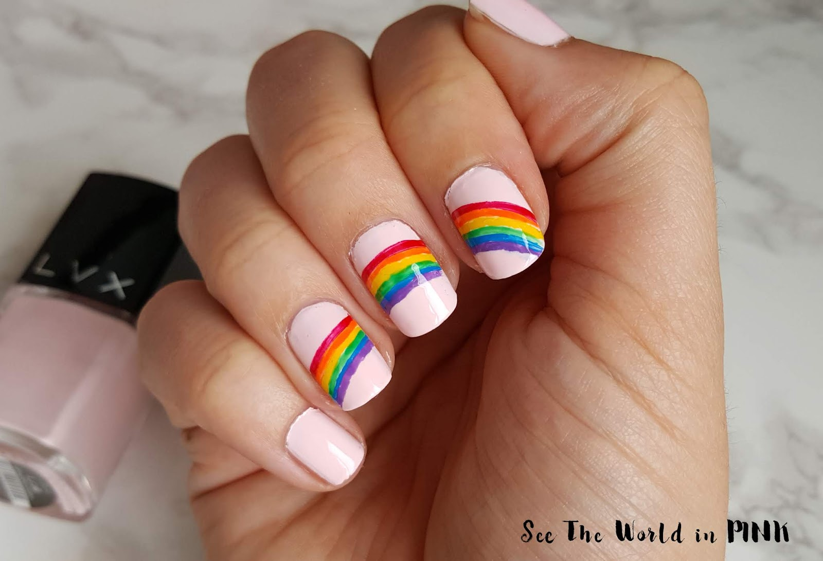 Manicure Monday - Rainbow Nails For Pride Month!