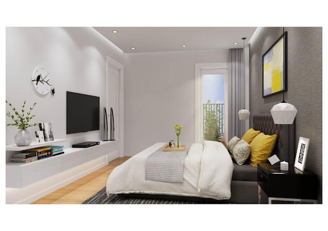 Thiết kế nội thất phòng ngủ ICID Complex