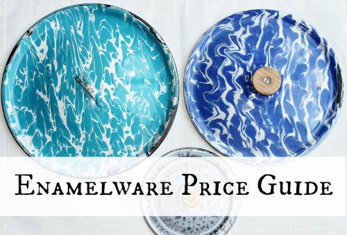 Antique & Vintage Enamelware Price Guide