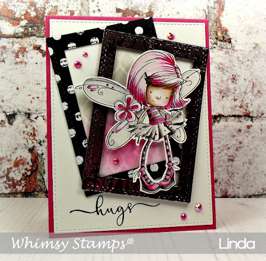 Whimsy Stamps - Flower Fairy