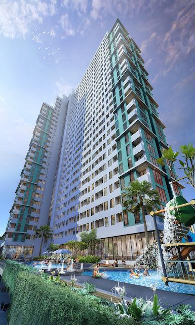 Serpong Garden Apartment tower Diamanta