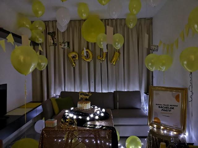 Bachelor party di Deqasa Studio Shah Alam