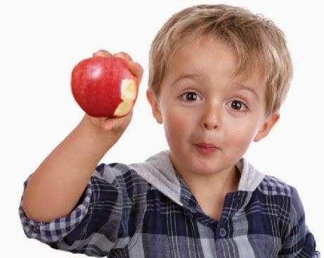 Pentingnya Apel Dalam Pertumbuhan Anak