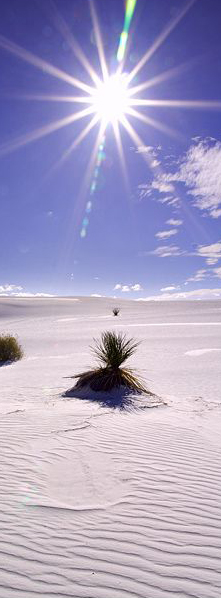 White Sands National Monument in Alamogordo, New Mexico and 50+ Secret Places in America That Most Tourists Don't Know About